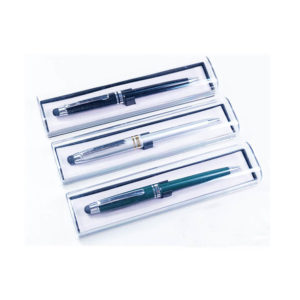 Transparent Plastic Box with bed for pen
