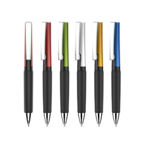 Metal pen in different colours